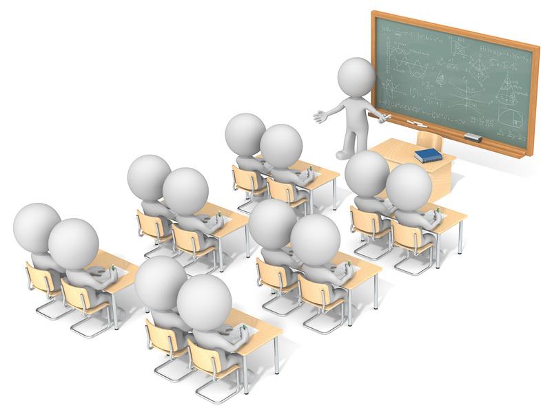 Lehrer_vor_Schuelern